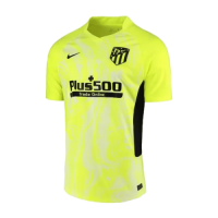 20/21 Atletico Madrid Third Away Green Soccer Jerseys Shirt(Player Version)