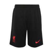 20/21 Liverpool Third Away Black Soccer Jerseys Short