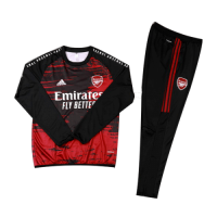 Arsenal Kids Sweat Kit (Top+Trouser) Black&Red 2020/21