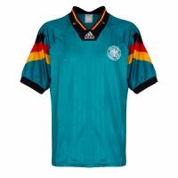 Germany Retro Soccer Jersey Away Replica 1992