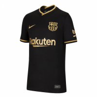 20/21 Barcelona Away Black Soccer Jerseys Shirt