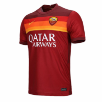 20/21 Roma Home Red Soccer Jerseys Shirt(Player Version)