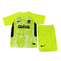 Atletico Madrid Kids Soccer Jesrey Third Away Kit (Shirt+Short) 2020/21