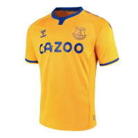 20/21 Everton Away Yellow Soccer Jerseys Shirt