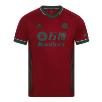 Wolves Soccer Jersey Third Away Replica 2020/21