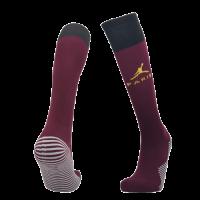 20/21 PSG Third Away Dark Red Soccer Jerseys Socks