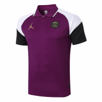 20/21 Jordan PSG Grand Slam Polo Shirt-Purple