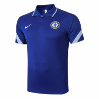 20/21 Chelsea Grand Slam Polo Shirt-Blue