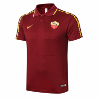20/21 Roma Grand Slam Polo Shirt-Red