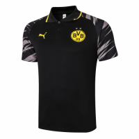 20/21 Borussia Dortmund Grand Slam Polo Shirt-Black