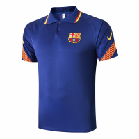 20/21 Barcelona Grand Slam Polo Shirt-Navy