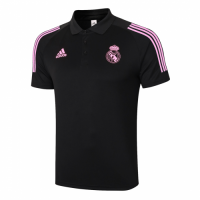 20/21 Real Madrid Core Polo Shirt-Black