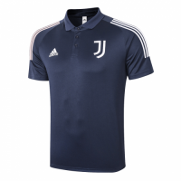 20/21 Juventus Core Polo Shirt-Navy