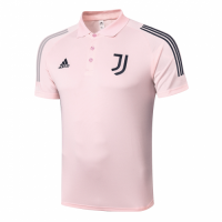 20/21 Juventus Core Polo Shirt-Pink