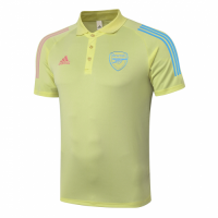 20/21 Arsenal Core Polo Shirt-Yellow