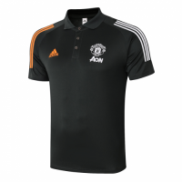 20/21 Manchester United Core Polo Shirt-Dark Green