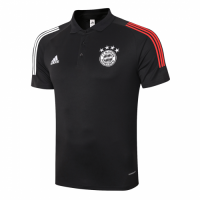 20/21 Bayern Munich Core Polo Shirt-Black