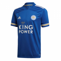 20/21 Leicester City Home Blue Soccer Jerseys Shirt