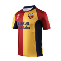 01-02 Roma Third Away Red&Yellow Soccer Retro Jerseys Shirt