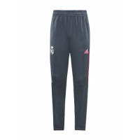 20/21 Real Madrid Gray&Pink Training Trouser