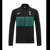 20/21 Tottenham Hotspur Black Player Version High Neck Collar Training Jacket
