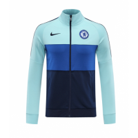 20/21 Chelsea Light Blue Player Version High Neck Collar Training Jacket