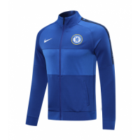 20/21 Chelsea Blue Player Version High Neck Collar Training Jacket