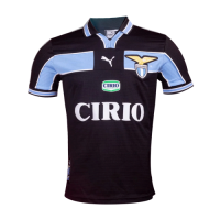 98/00 Lazio Away Navy Retro Soccer Jerseys Shirt