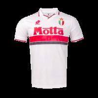 93/94 AC Milan Away White Retro Soccer Jerseys Shirt