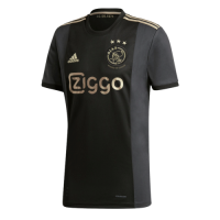 20/21 Ajax Champions League Away Black Soccer Jerseys Shirt