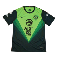 20/21 Club America Goalkeeper Green Soccer Jersey Shirt