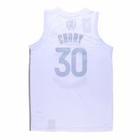 Men's Golden State Warriors Curry #30 White MVP Jersey