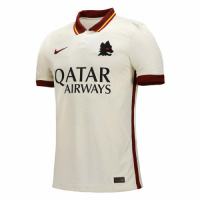 20/21 Roma Away White Soccer Jerseys Shirt