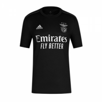 20/21 Benfica Away Black Soccer Jerseys Shirt
