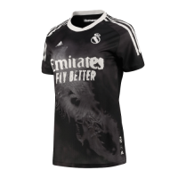 Real Madrid Human Race Black Soccer Jerseys Shirt(Player Version)