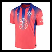 20/21 Chelsea Third Away Red Soccer Jerseys Shirt(Player Version)