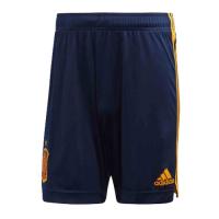 2020 World Cup Spain Home Navy Jerseys Soccer Short