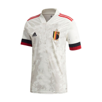 2020 Belgium Away White Soccer Jerseys Shirt