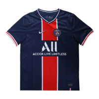 20/21 PSG Home Navy&Red Soccer Jerseys Shirt