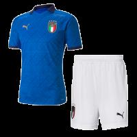 2020 Italy Home Blue Soccer Jerseys Kit(Shirt+Short)