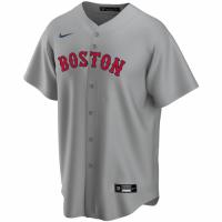 Men's Boston Red Sox Nike Gray Road 2020 Replica Custom Jersey