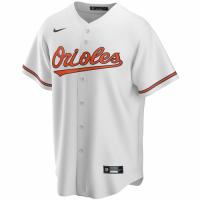 Men's Baltimore Orioles Nike White Home 2020 Replica Custom Jersey