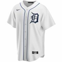 Men's Detroit Tigers Nike White Home 2020 Replica Custom Jersey