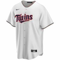 Men's Minnesota Twins Nike White Home 2020 Replica Custom Jersey