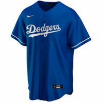 Men's Los Angeles Dodgers Nike Royal Alternate 2020 Replica Custom Jersey