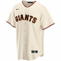 Men's San Francisco Giants Nike Cream Home 2020 Replica Custom Jersey