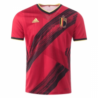 2020 Belgium Home Red Soccer Jerseys Shirt