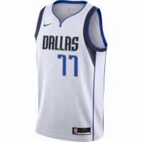 Men's Dallas Mavericks Luka Doncic No.77 Nike White 202021 Swingman Jersey - Association Edition