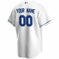 Men's Kansas City Royals Nike White Home 2020 Replica Custom Jersey