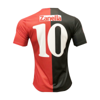 93/94 Newell's Old Boys Home #10 Zanella Red&Black Retro Soccer Jerseys Shirt